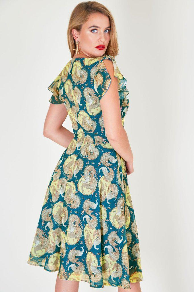 Lucy Peacock Summer Dress