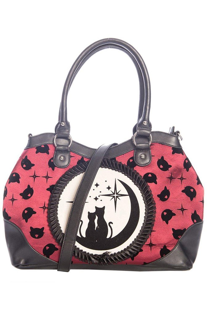Lunar Sisters Handbag-Banned-Dark Fashion Clothing