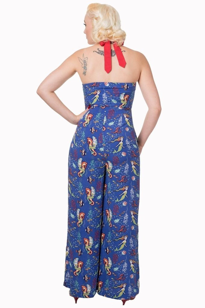 Made Of Wonder Jumpsuit-Banned-Dark Fashion Clothing