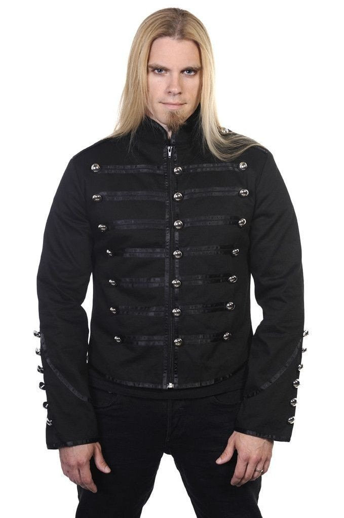 Military Drummer Jacket-Banned-Dark Fashion Clothing