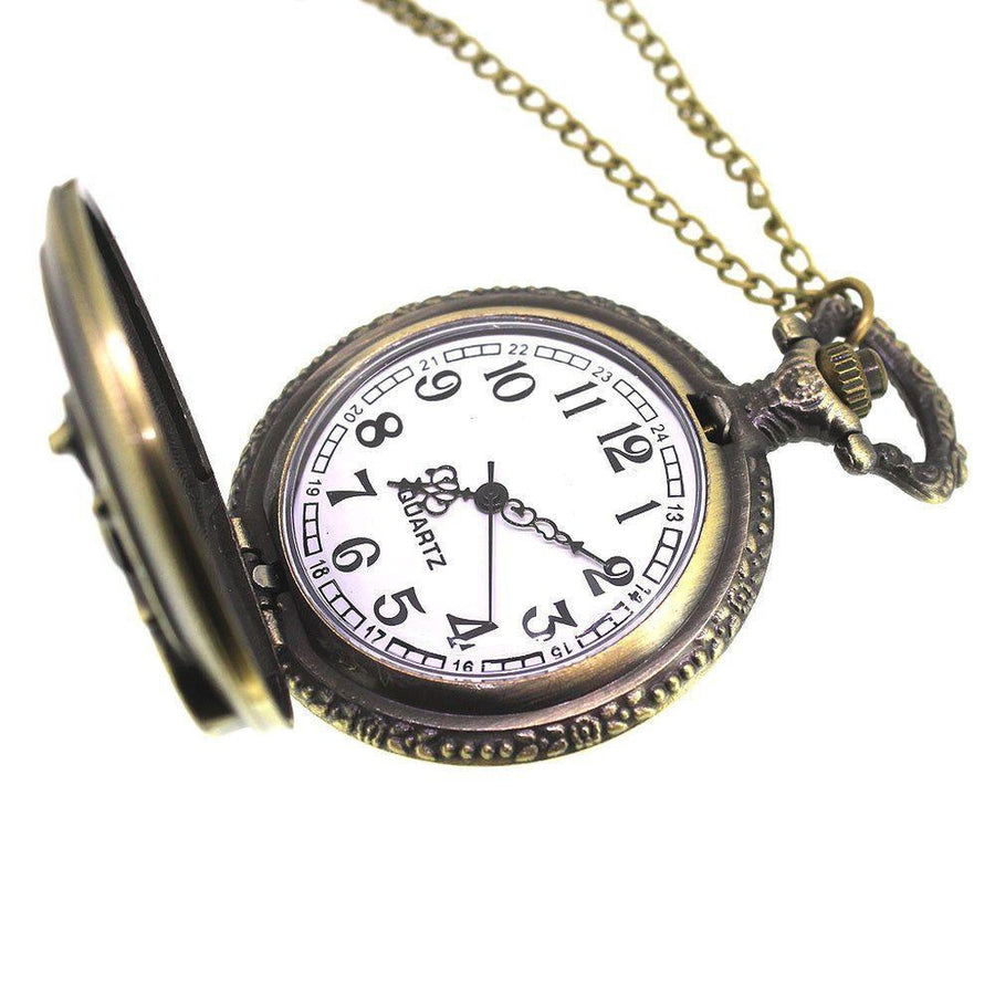 Motorbike Pocket Watch