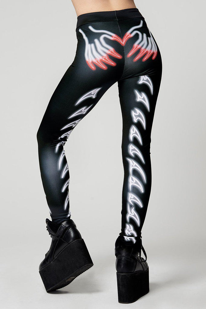 Nexo Claw Leggings-Long Clothing-Dark Fashion Clothing