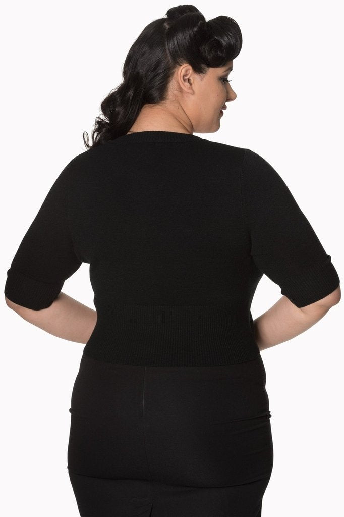 Overload Plus Size Cardigan-Banned-Dark Fashion Clothing