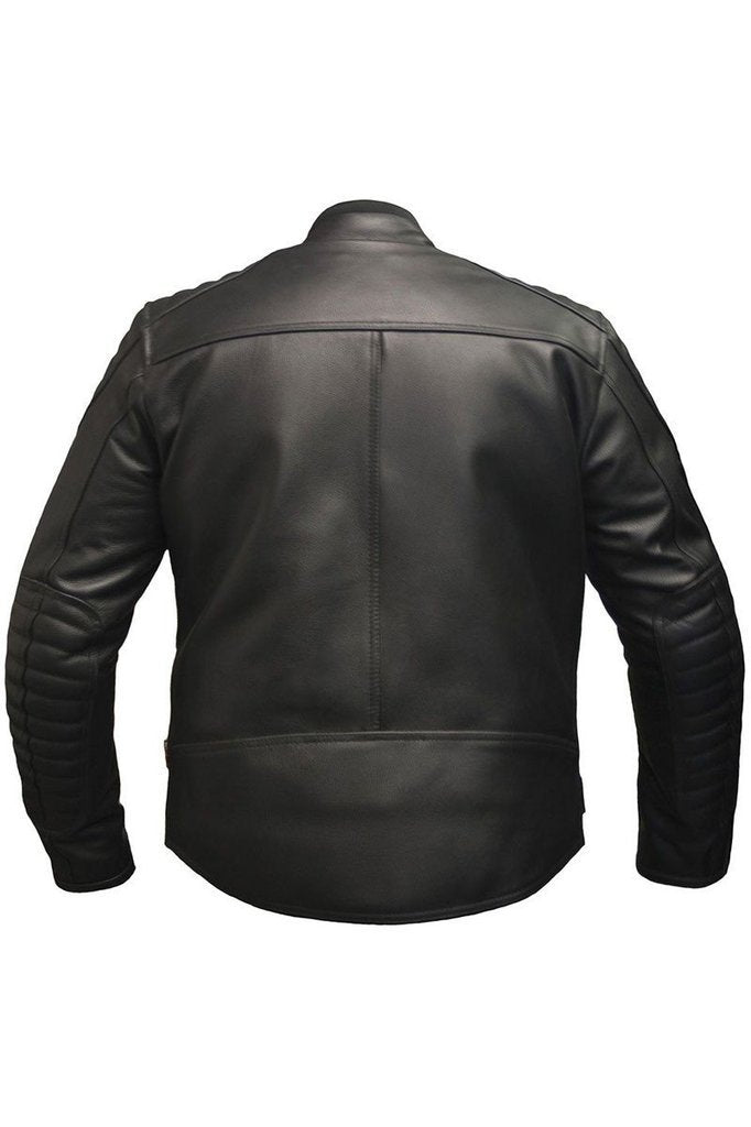 Panorama Biker Jacket-Skintan Leather-Dark Fashion Clothing