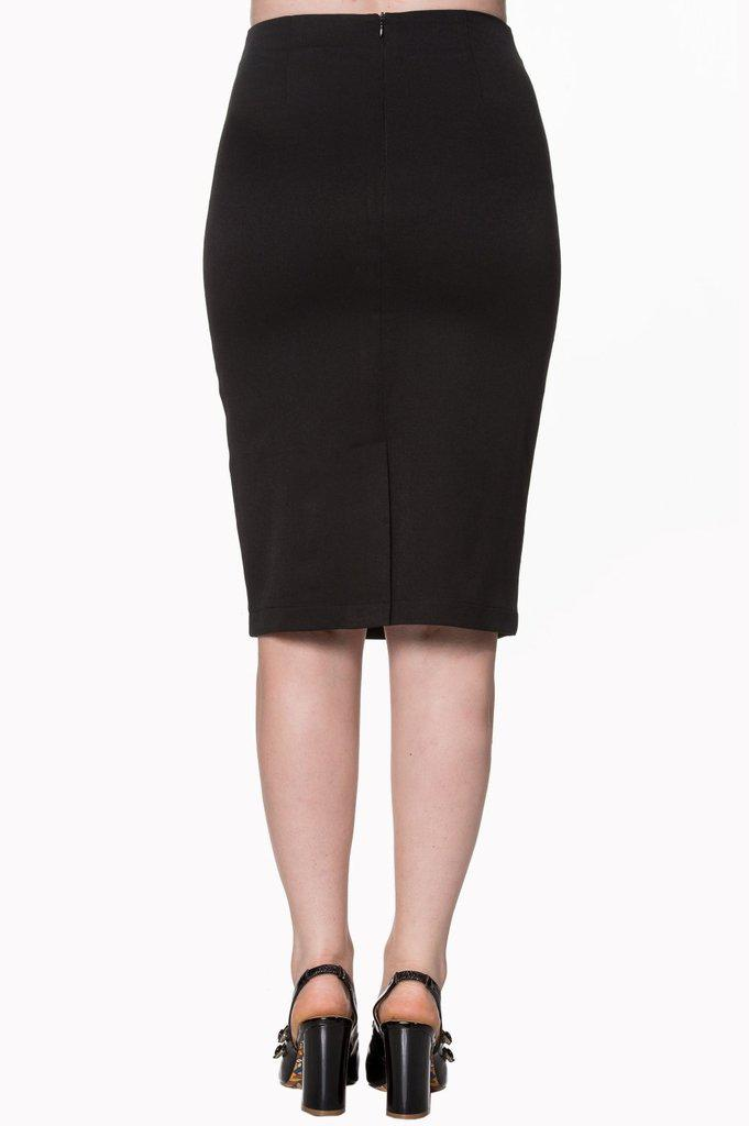 Paula Skirt-Banned-Dark Fashion Clothing