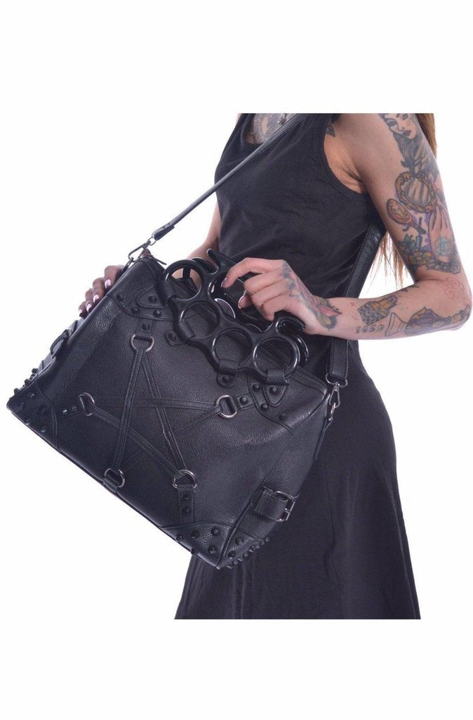 Pentacult Bag-Poizen Industries-Dark Fashion Clothing