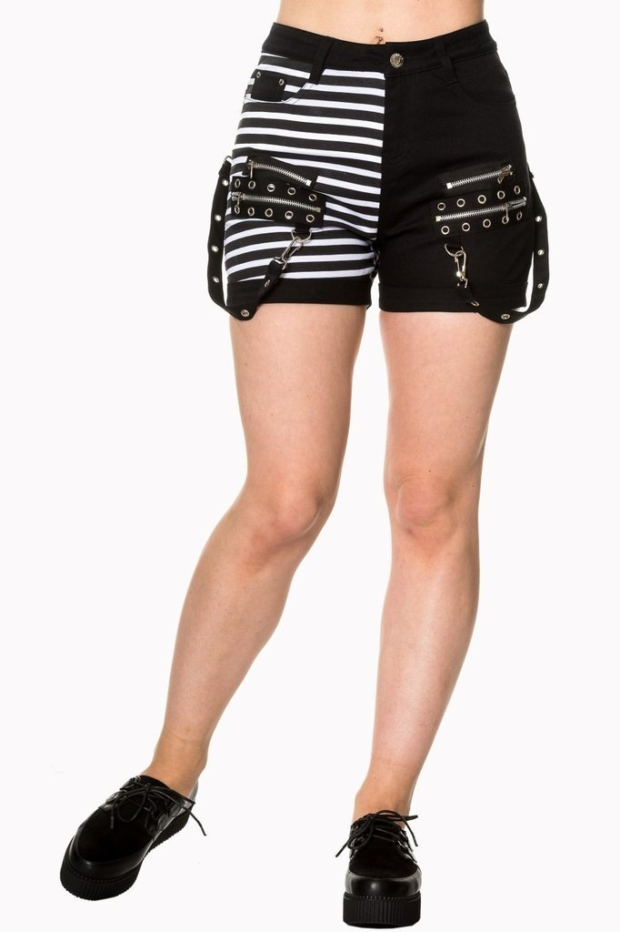 Road To Ruin Shorts-Banned-Dark Fashion Clothing