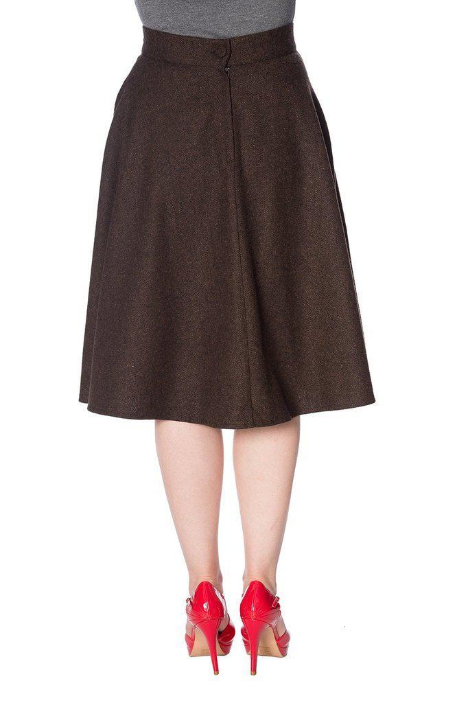 Sassy Swing Skirt-Banned-Dark Fashion Clothing
