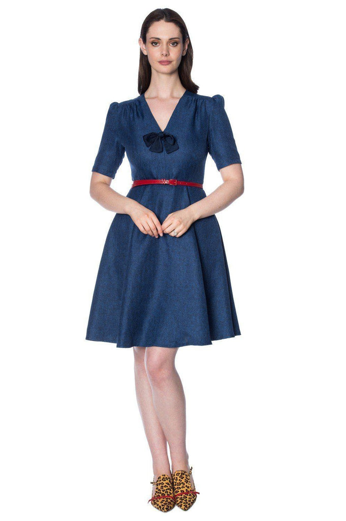 Secretary Dress-Banned-Dark Fashion Clothing