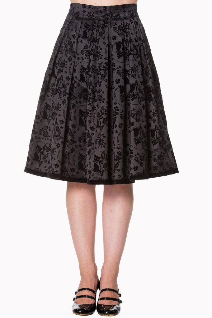 Sia Bella Skirt-Banned-Dark Fashion Clothing