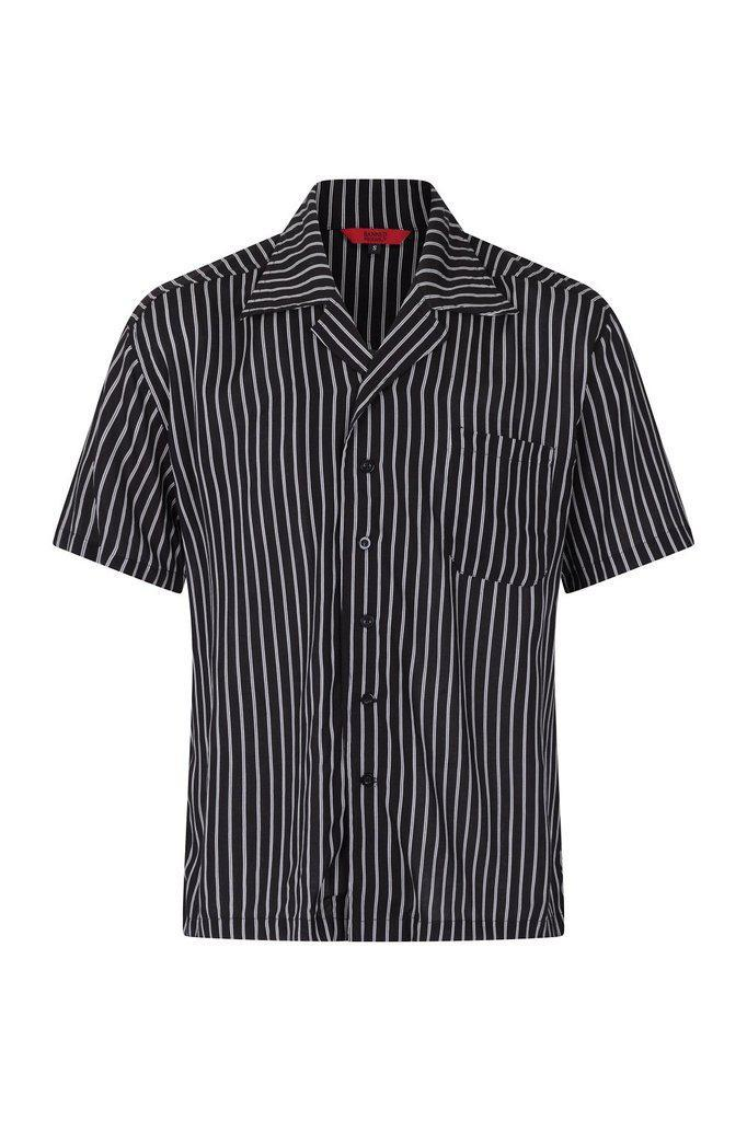 Striped Shirt - SHM60034-Banned-Dark Fashion Clothing