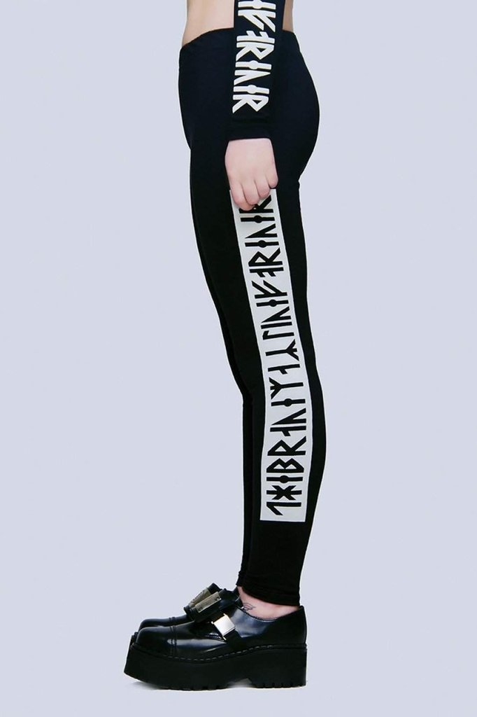 The Brave Leggings-Long Clothing-Dark Fashion Clothing