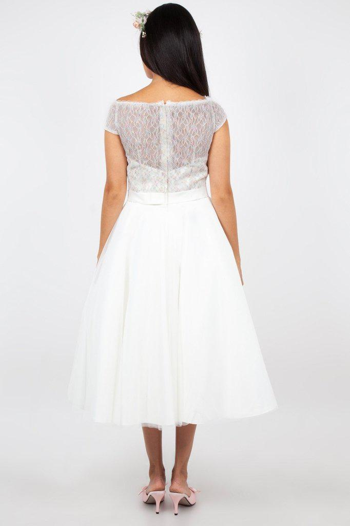Verity Multi Lace Bridal Gown