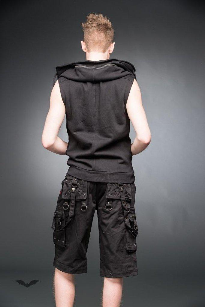 Vest With Hidden Hood-Queen of Darkness-Dark Fashion Clothing