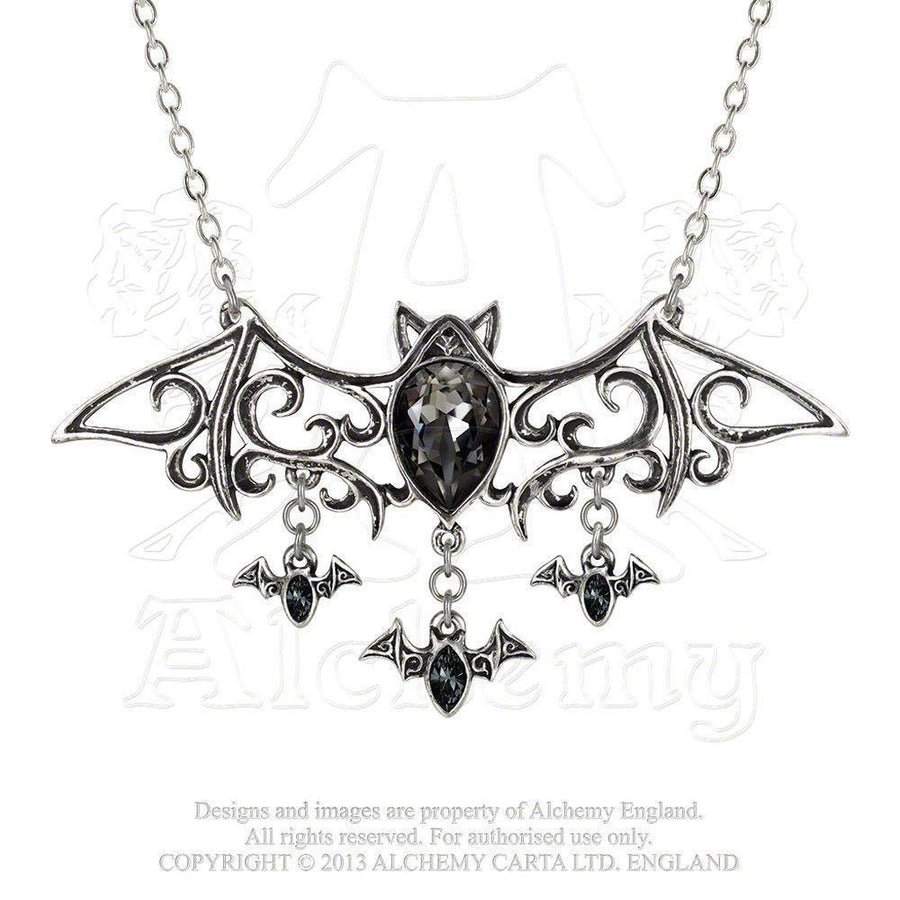 Viennese Nights Necklace-Alchemy-Dark Fashion Clothing