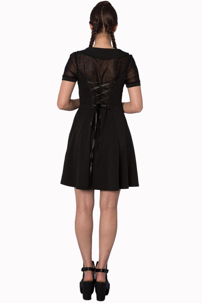 Webb dress-Banned-Dark Fashion Clothing