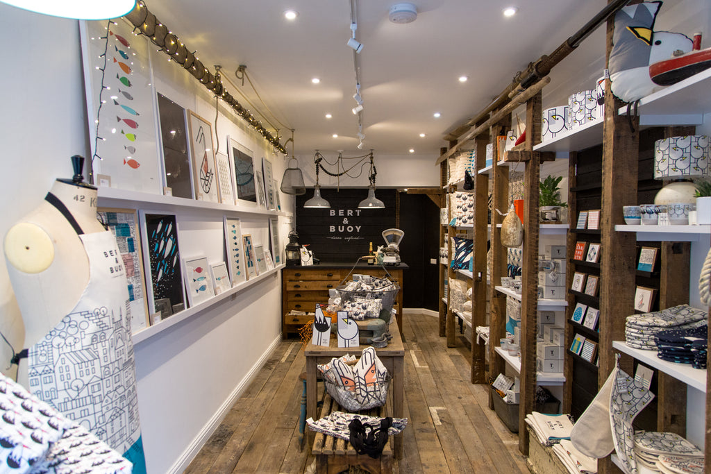 Bert & Buoy opens first flagship store in Dartmouth, Devon