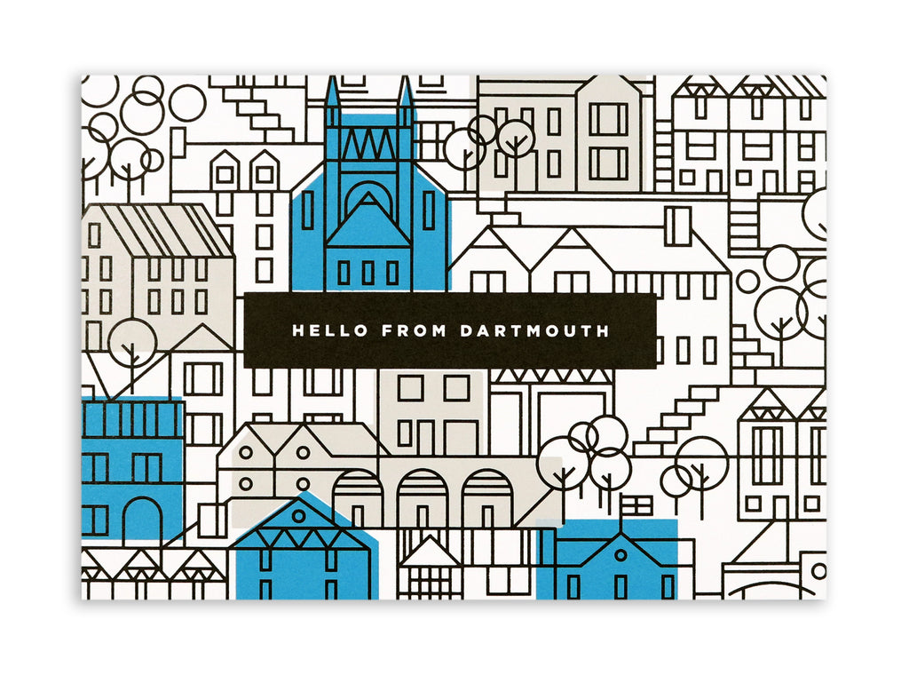 DARTMOUTH HELLO POSTCARD