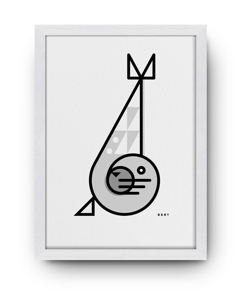 BERT & BUOY WALL ART | SAMMY SEAL
