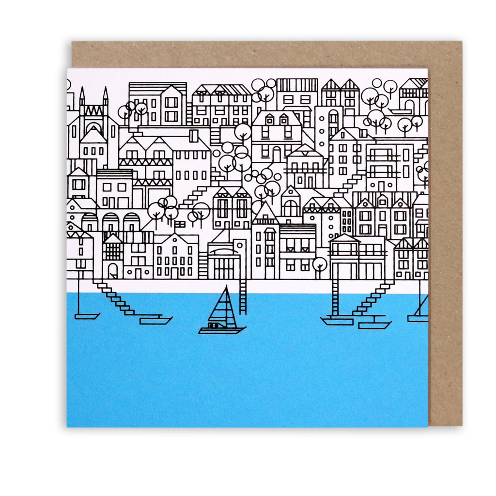 DARTMOUTH NAUTICAL GREETING CARD