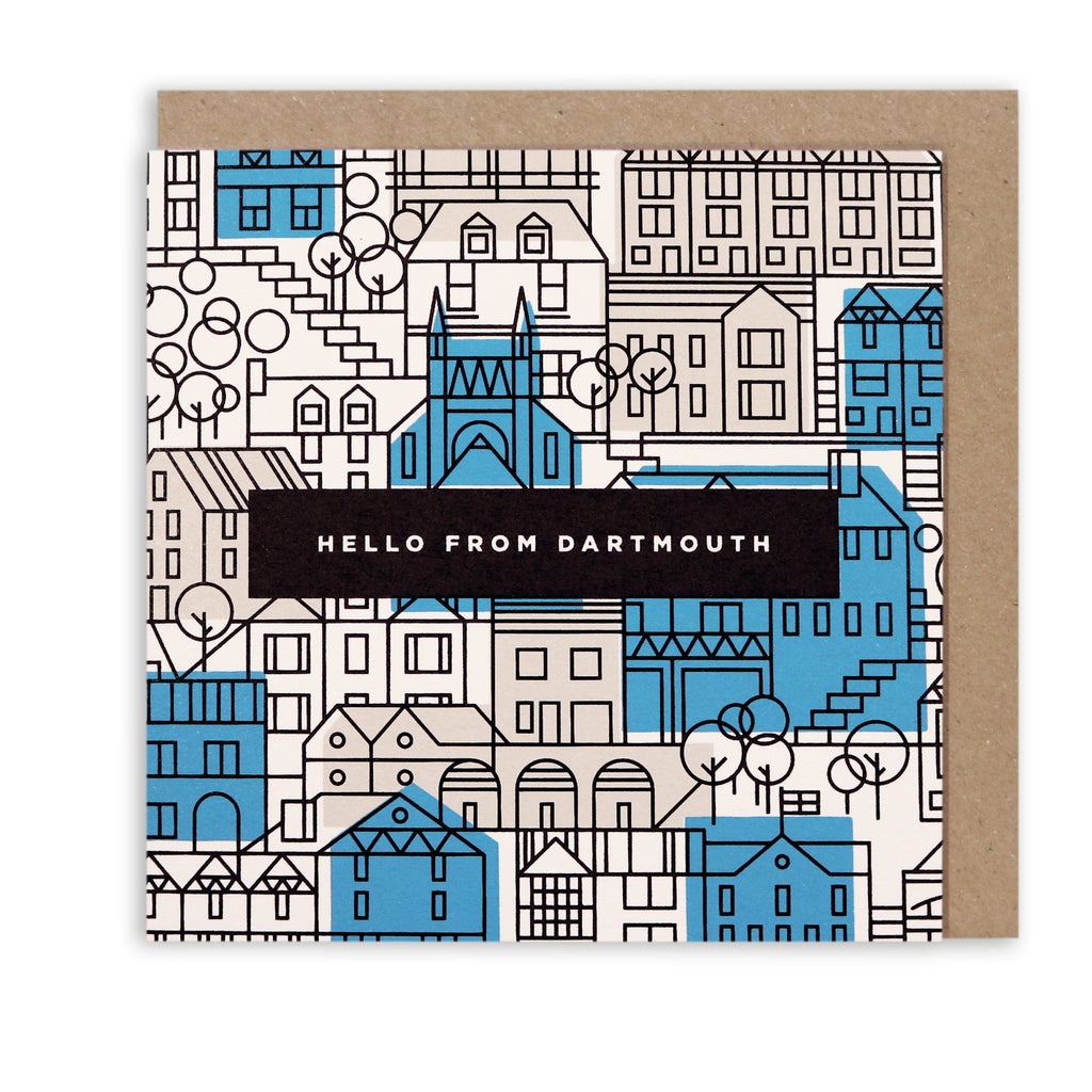 DARTMOUTH HELLO NAUTICAL GREETING CARDS