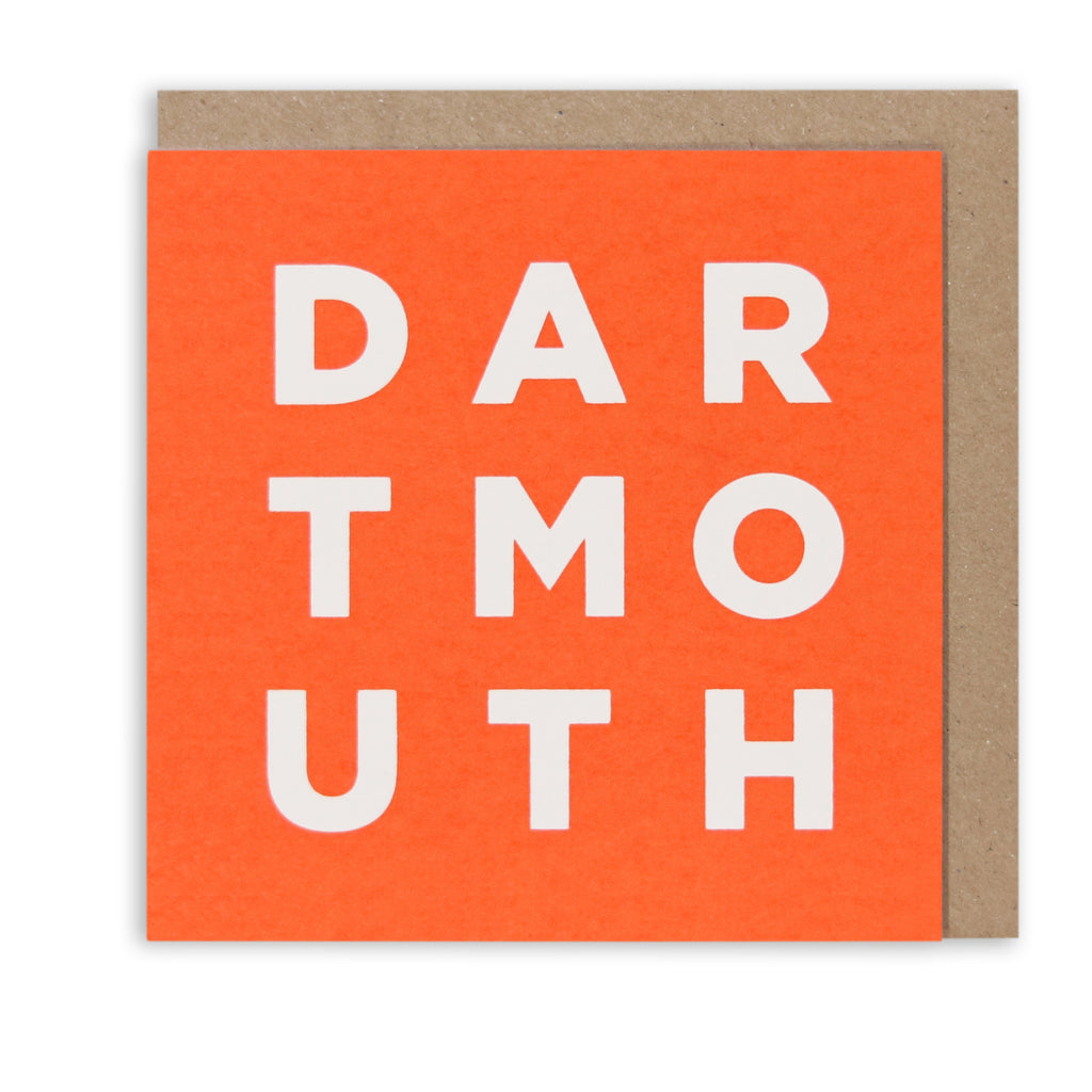 DARTMOUTH RED GREETING CARD