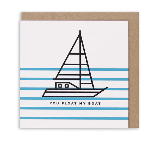 SHIP AHOY GREETING CARD
