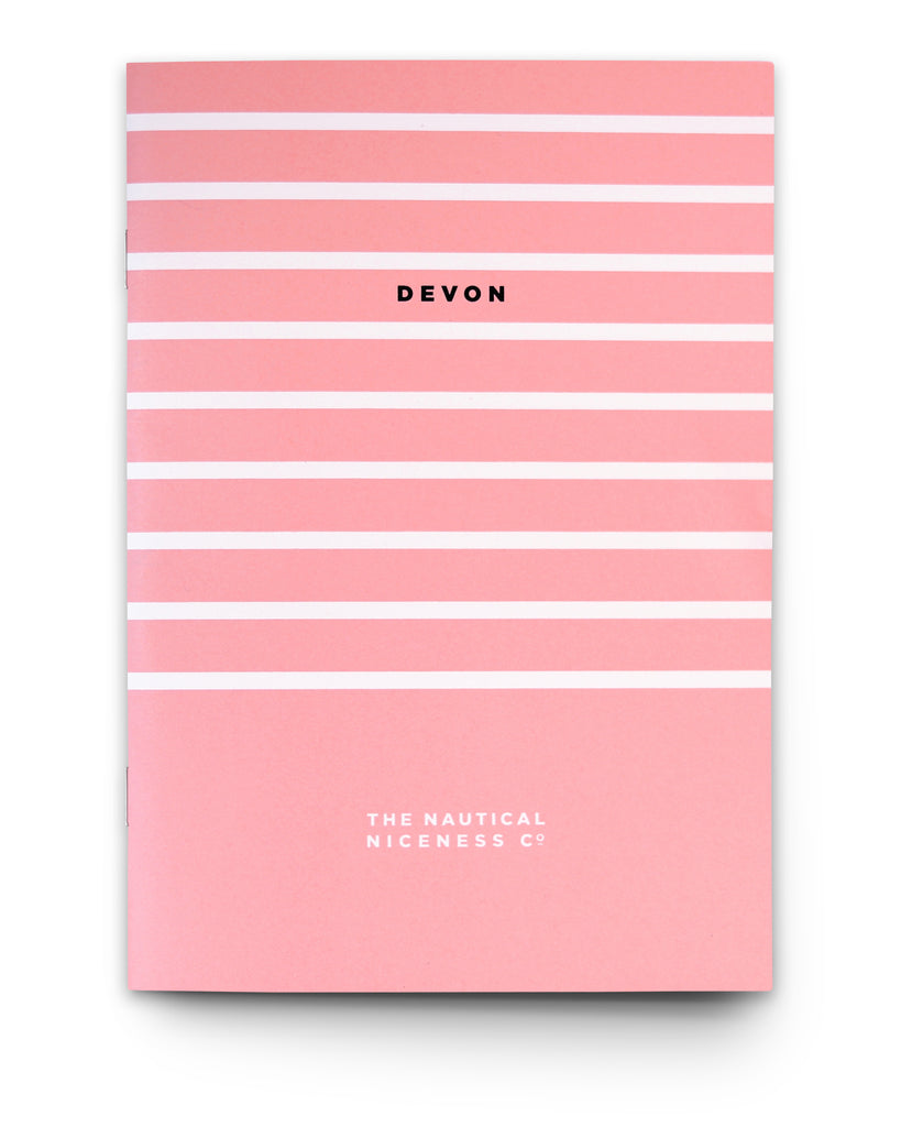 BERT & BUOY NOTEBOOK DEVON STRIPES