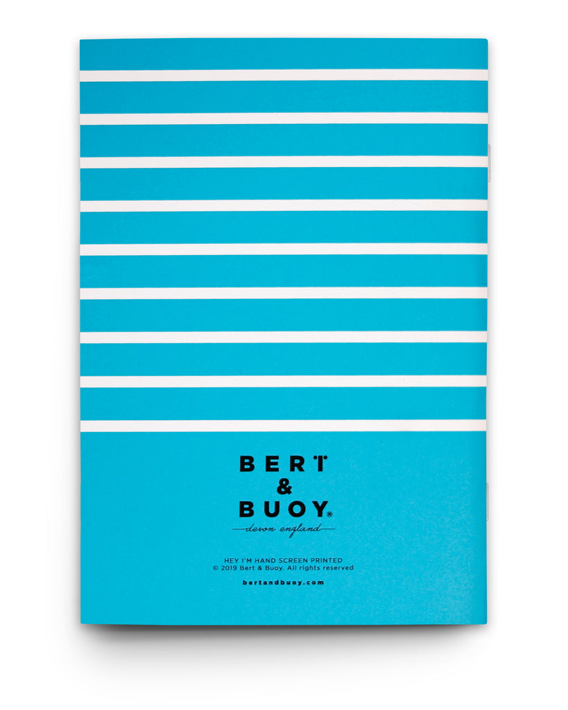 DARTMOUTH STRIPES NAUTICAL NOTEBOOK
