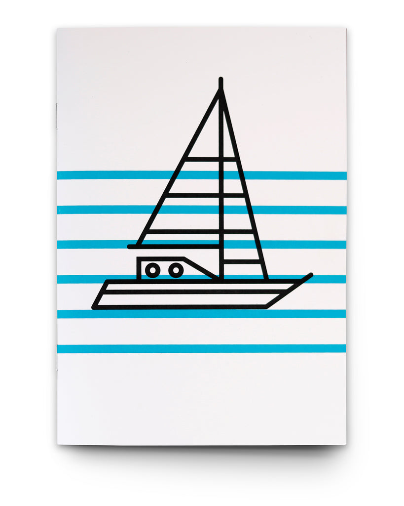 SHIP AHOY NAUTICAL NOTEBOOK