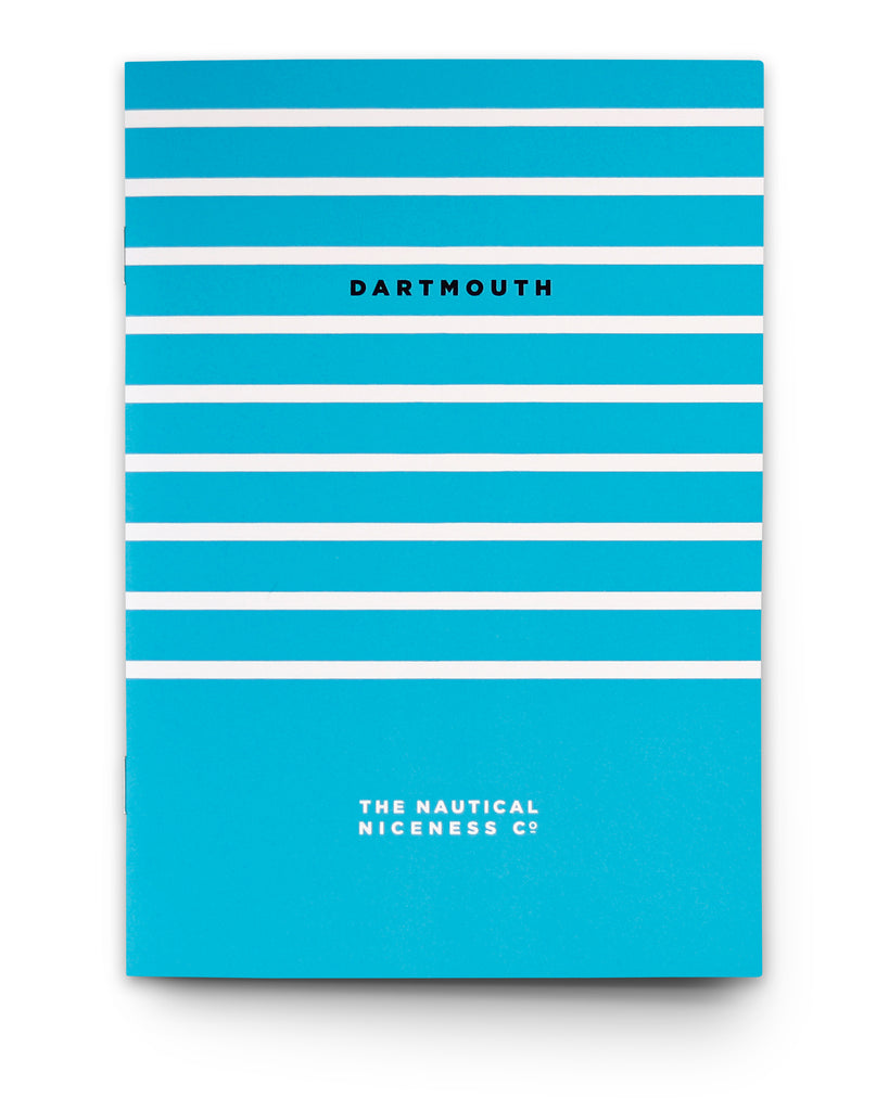 DARTMOUTH STRIPES NOTEBOOK