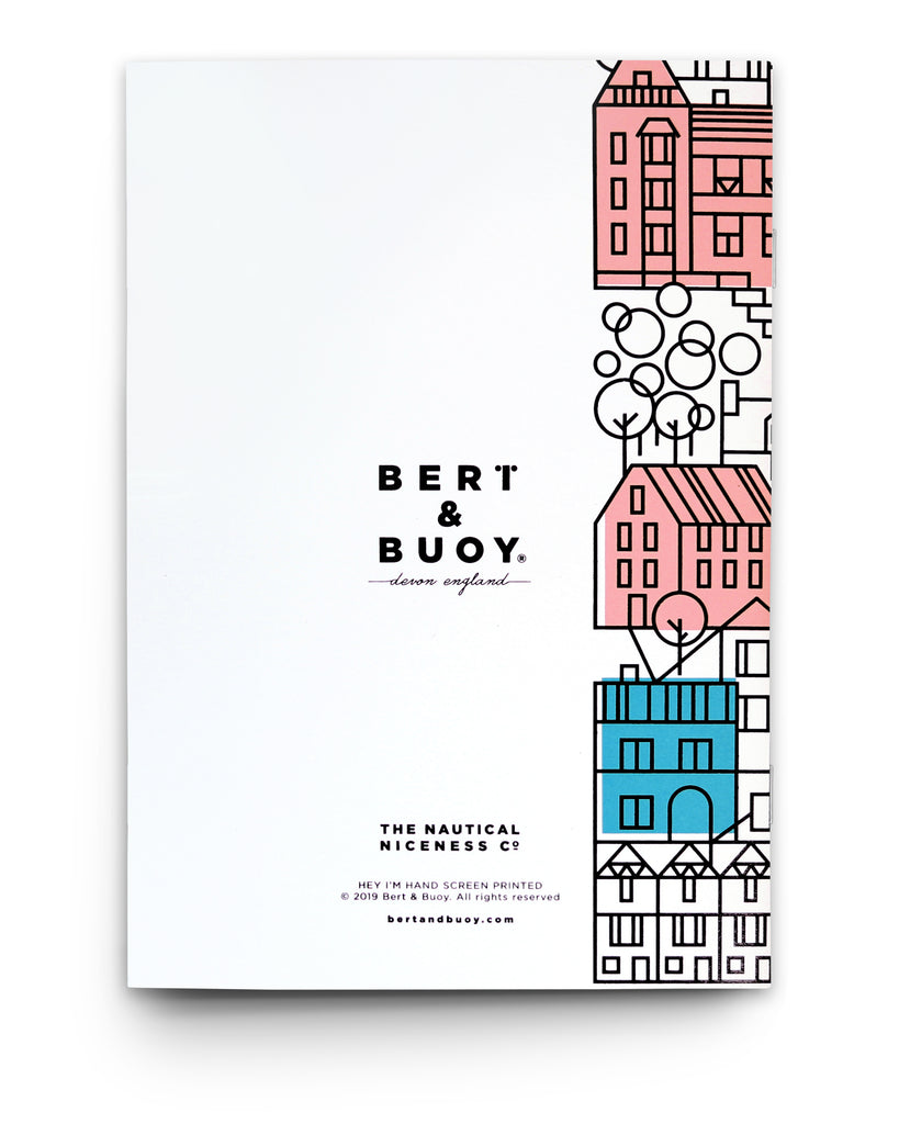 BERT & BUOY NOTEBOOK DARTMOUTH HOUSES
