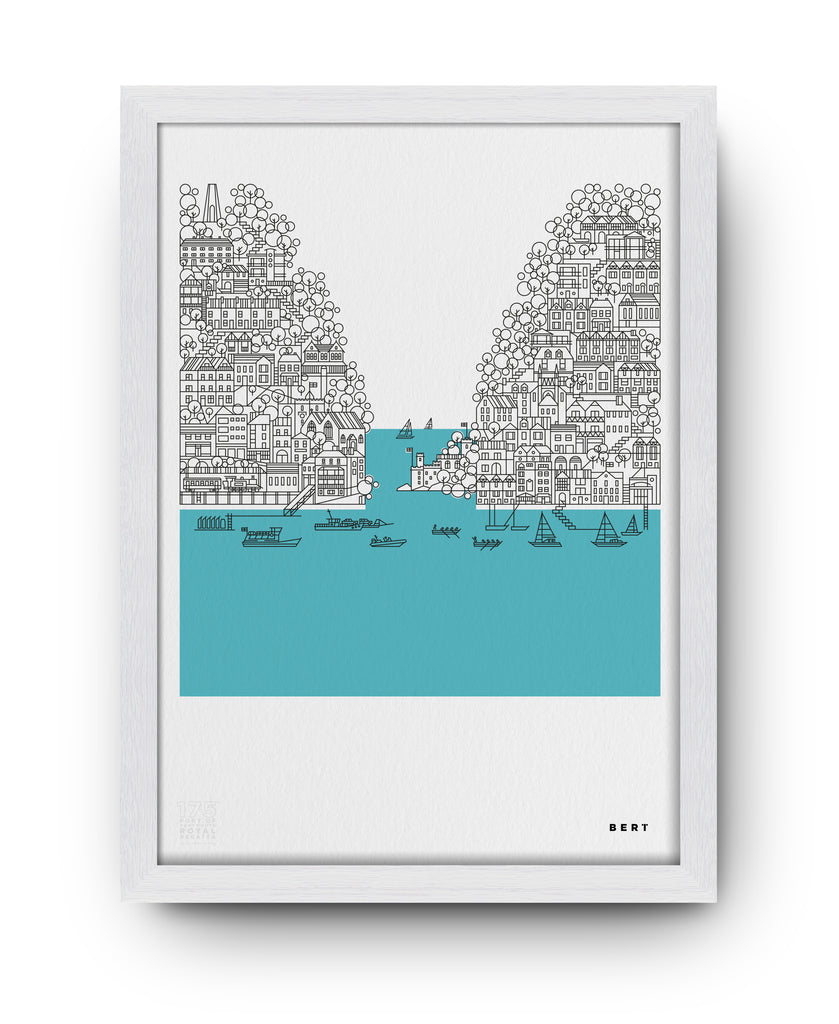 BERT & BUOY WALL ART | THE ROYAL REGATTA *LIMITED EDITION*