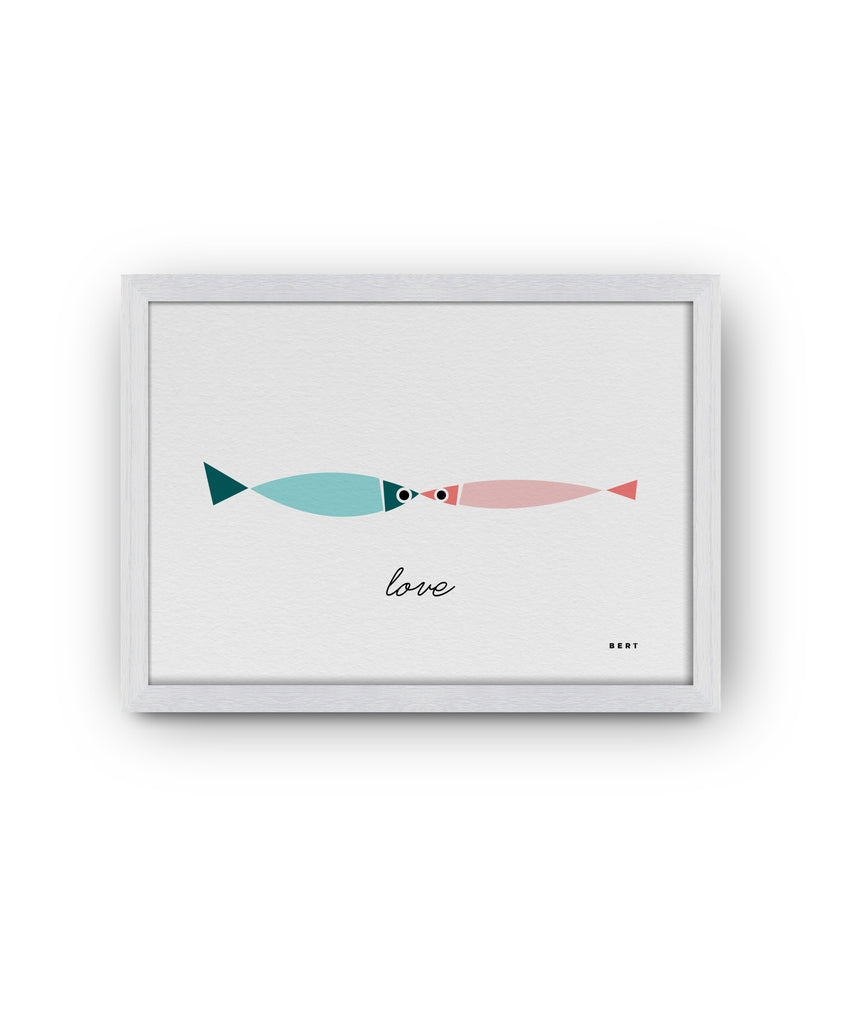 FISHY LOVE - ART BY BERT & BUOY