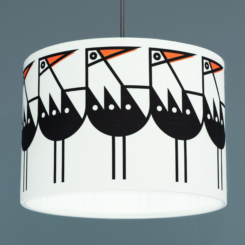 BERT & BUOY DRUM LIGHT & CEILING SHADE OYSTERCATCHER DRUM SHADE