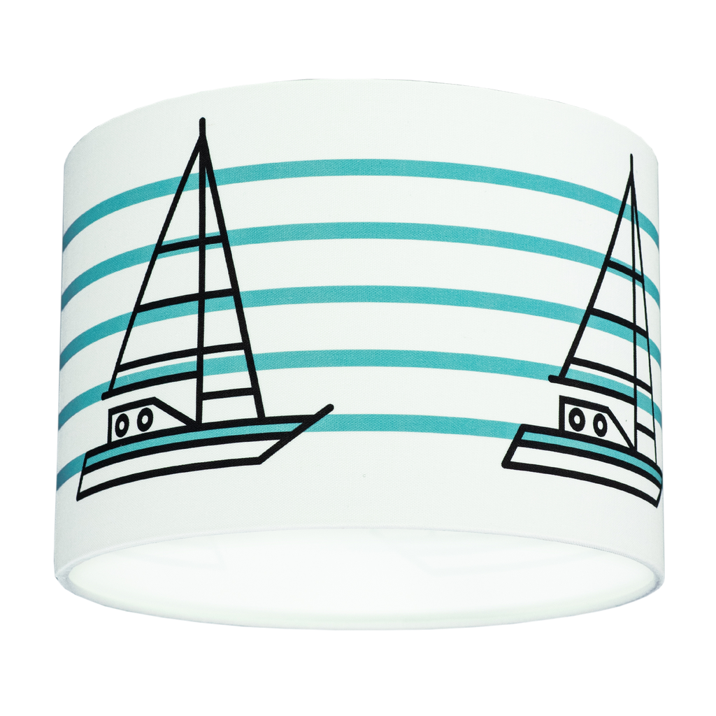 THE SHIP AHOY DRUM SHADE