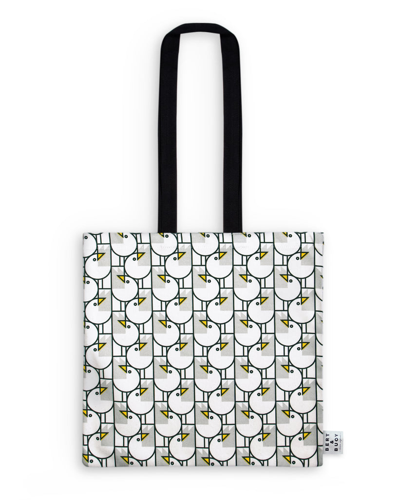 BERT & BUOY TOTE BAG GREAT GULLS