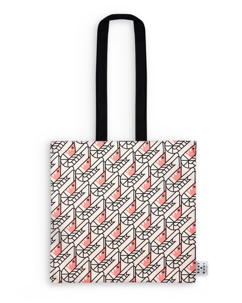 BERT & BUOY TOTE BAG SO SHRIMP