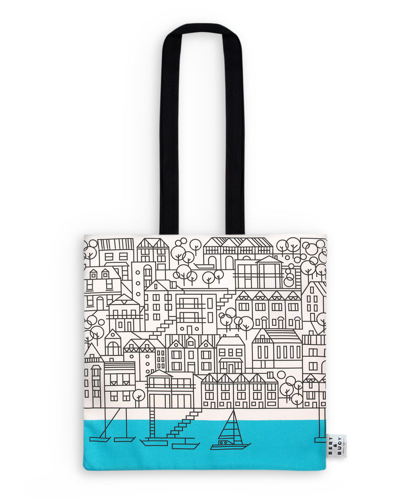 BERT & BUOY TOTE BAG DARTMOUTH