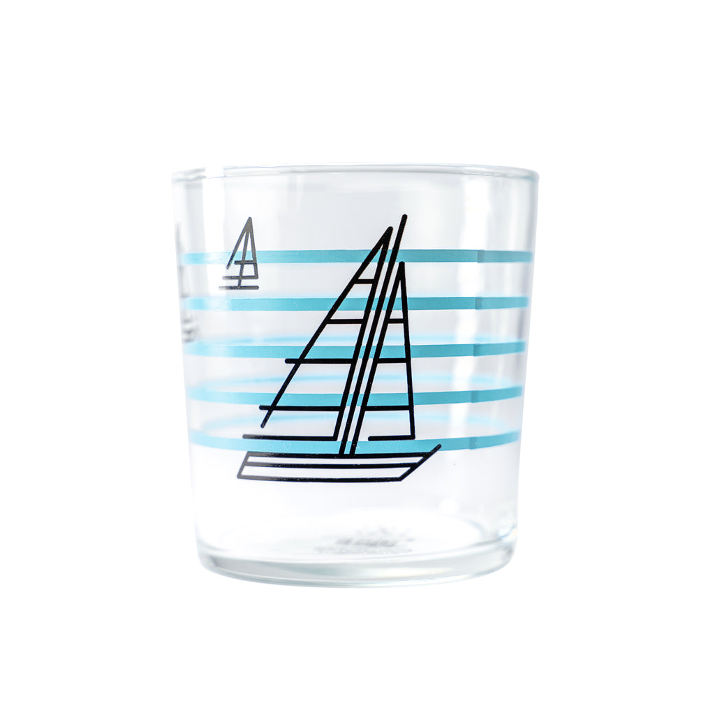 BOAT RACE BERT & BUOY GLASS
