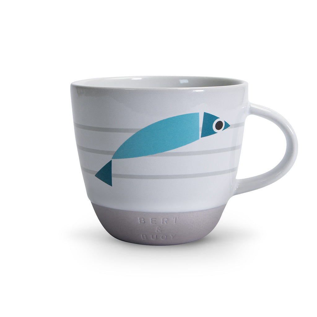 BERT & BUOY FISHY RISE & SHINE MUG