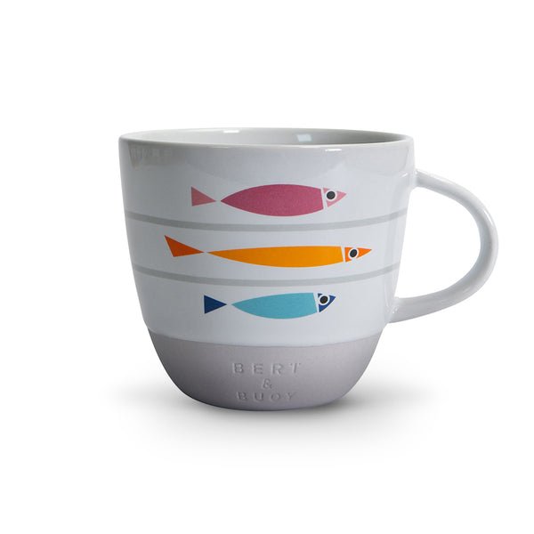 FISHY LINE-UP MUG