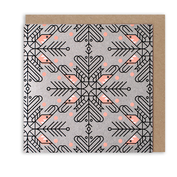 SO SHRIMP PATTERN - LIMITED EDITION CHRISTMAS CARD