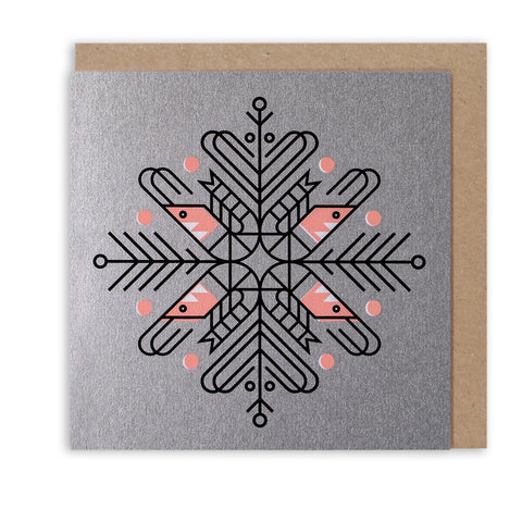 SO SHRIMP SNOWFLAKE - LIMITED EDITION CHRISTMAS CARD