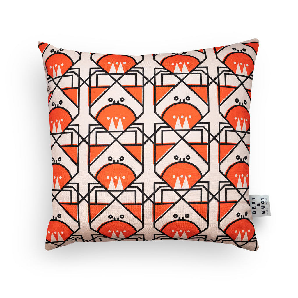 BERT & BUOY CUSHION CUNNING CRAB
