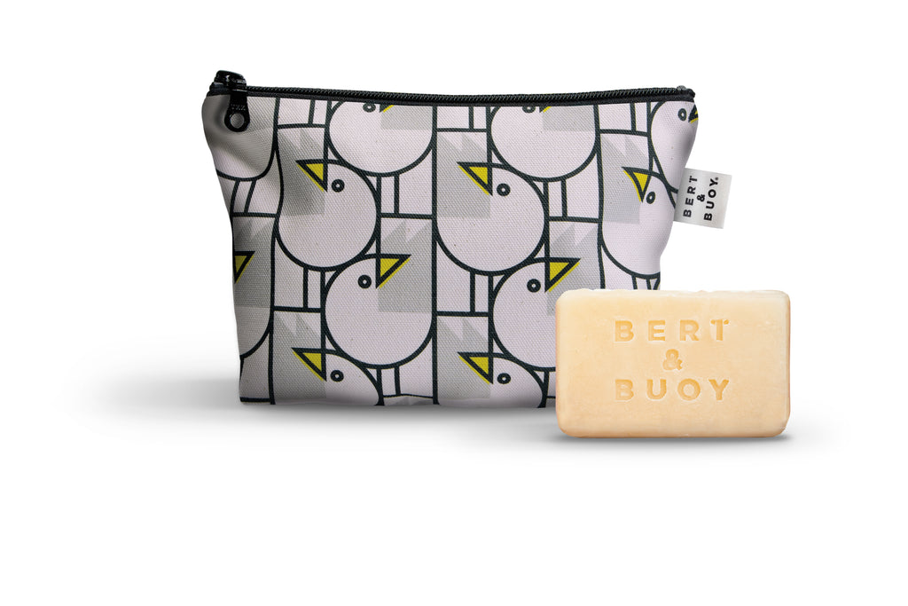 Hey Gull Friend Soap & Wash Bag Duo