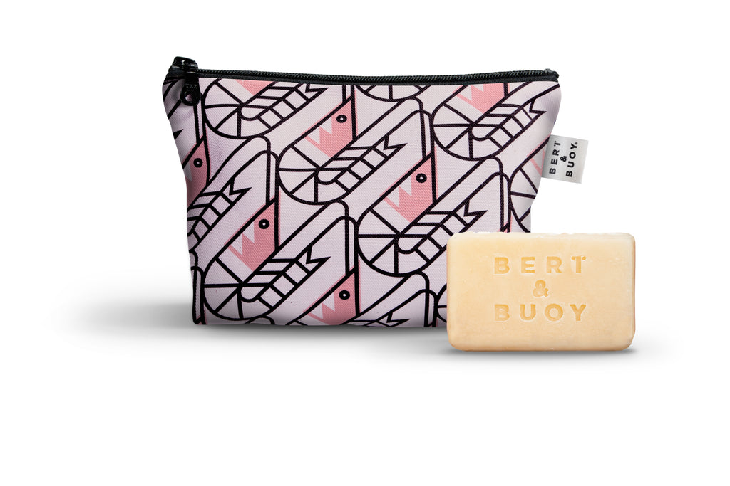 Shrimply the Best Soap & Wash Bag Duo