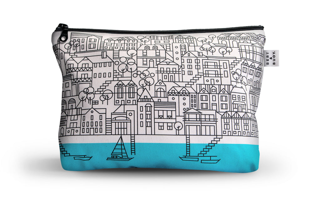 BERT & BUOY LARGE WASH BAG DARTMOUTH