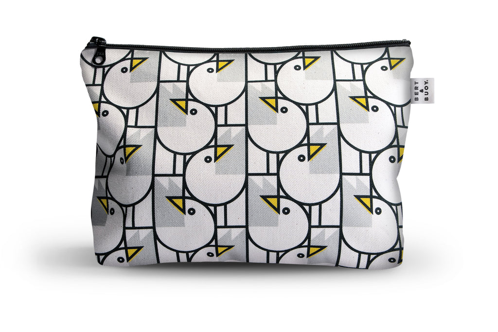 GREAT GULLS LARGE COSMETIC & WASH BAG