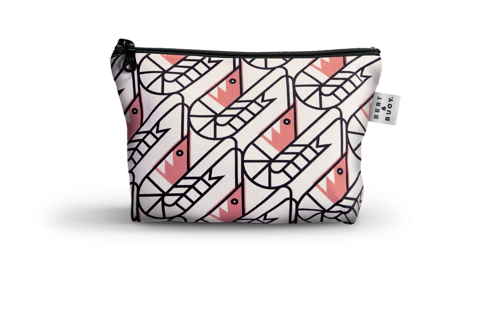 BERT & BUOY MEDIUM WASH BAG SO SHRIMP